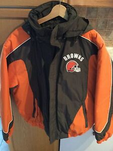 Cleveland Browns Winter Jacket Brand New