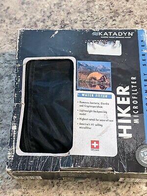 KATADYN - Hiker Microfilter - Backcountry Series Pump - Water Filter