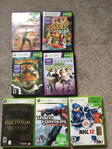 XBox 360 & Kinect Games