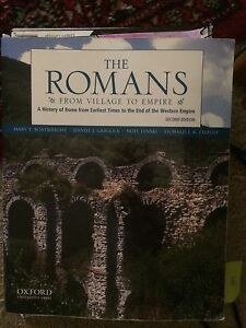 The Romans From Village To Empire Beecroft Hornsby Area Preview