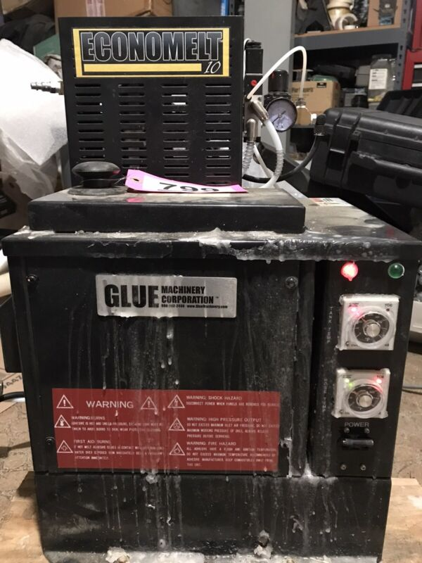 Econo Melt Hot Melt Adhesive Glue Machine 120V with Hose