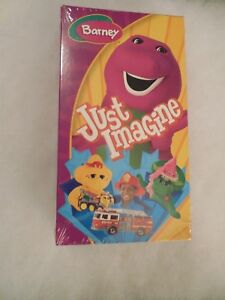 Barney Just Imagine VHS New Sealed Unopened Quick Careful Shipping  & 16 Songs