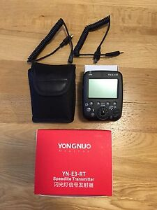 For sale: Yongnuo YN-E3-RT flash trigger Cremorne North Sydney Area Preview
