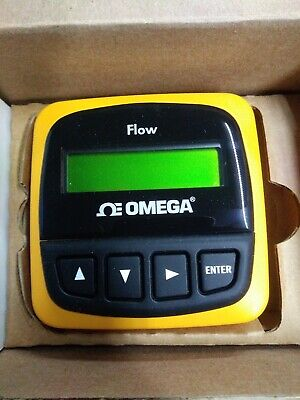 Omega Fp90-3 Flow Transmitter Field 2 Ch Brand New