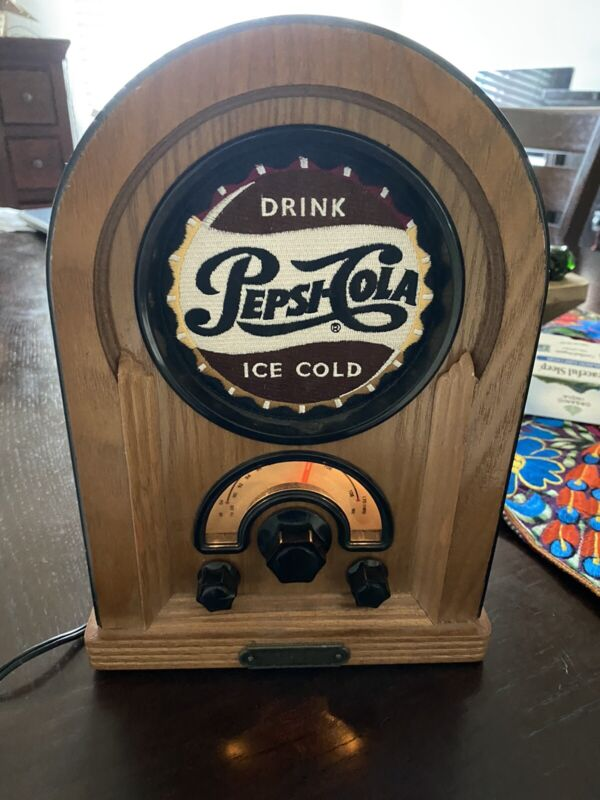 Vintage Pepsi Cola Jukebox FM AM Radio - Collectors Series