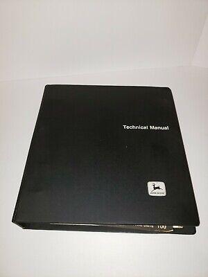 John Deere 5200 5400 Technical Manual - Tm-1066 Propelled Forage Harvesters