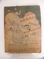 Adultos Hombres Reconociendo Álbum Historia J Sennep 1927 Numerado 812 -  - ebay.es