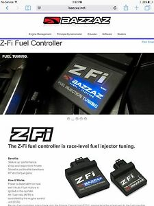 GSXR 750 BAZZAZ RACE PARTS