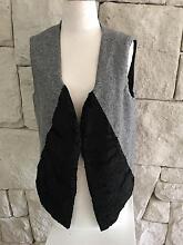 Fur Collar Vest One-off Designer Sample Meadowbank Ryde Area Preview