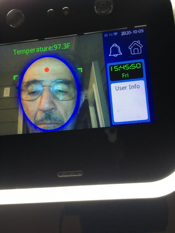 Temperature Screening Kiosk, Mask Detector, Face Recognition, Access Control