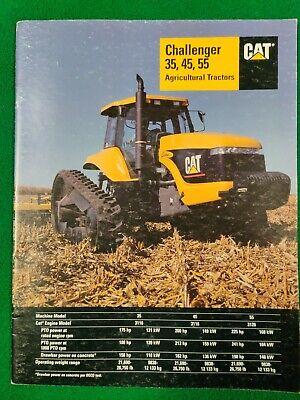 Cat Challenger 35 45 55 Agricultural Tractors Brochure Aehq5349 Pub Date 2-99