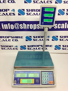 RETAIL SCALE SHOP SCALE BUTCHERS SCALE SWEET SCALE DELI SCALE EXCELL FD 110 NEW