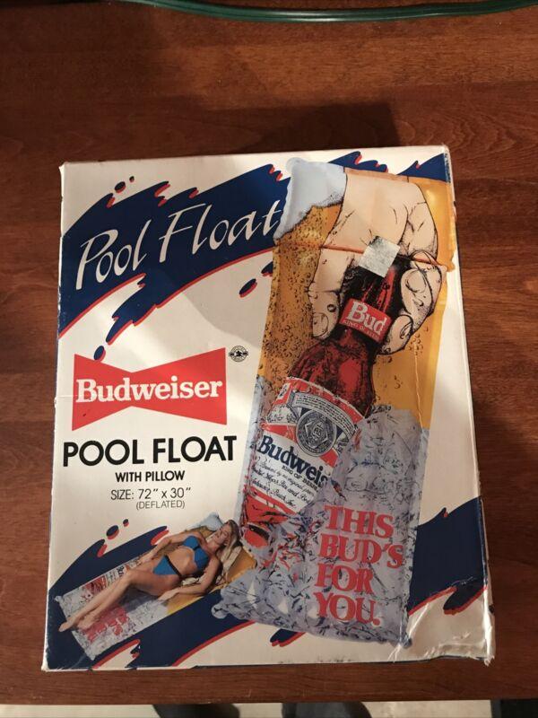 Budweiser Pool Float 1987