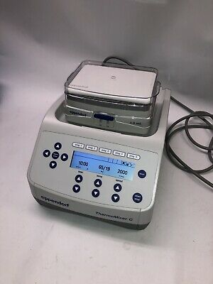 Excellent Condition Eppendorf 5382 Thermomixer C With 1.5ml Heat Block