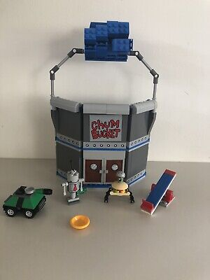 Lego Set #4981 Chum Bucket Complete with instructions and box (No SB Minifig.)