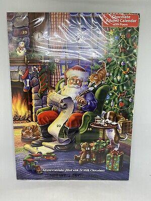 Naughty or Nice 24 Chocolate Advent Calendar Countdown to Christmas Santa Claus