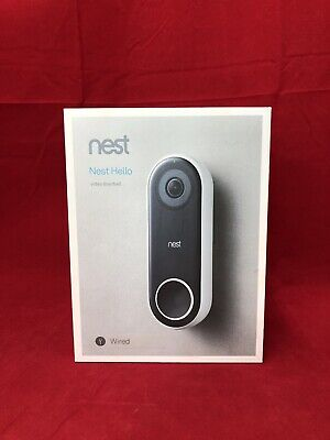 Nest Hello Smart Wi-fi Video Doorbell (NC5100US)