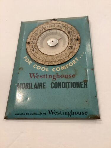 Vintage Westinghouse Thermostat Promo;  Mobilaire Conditioner
