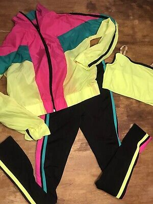 80s Dance Costumes (Weissman 80's Retro Vibe Electric Youth Dance Costume 3 Pc)