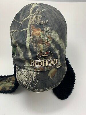 794009fb Red Head Gore-Tex Camouflage Hunting Ear Flaps Hat Size Mens Size Large