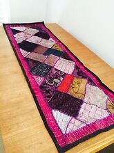 Handmade beaded Table runner Panania Bankstown Area Preview