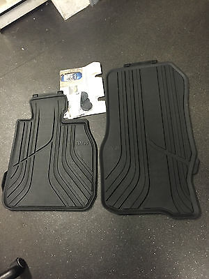 BMW 3 SERIES F30 F31 F34 RUBBER MATS ALL WEATHER X DRIVE CARS ONLY 51472365968
