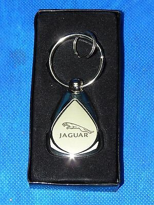 (Original Jaguar Dealer Key Chain Ring High Quality w/ Roadside Asst. 800.4JAGUAR)