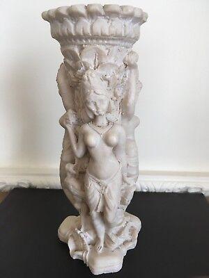 Vintage Oriental Resin Vase