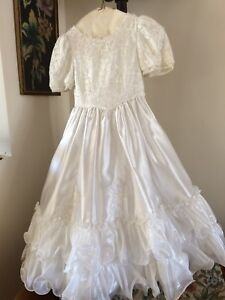 First communion gown