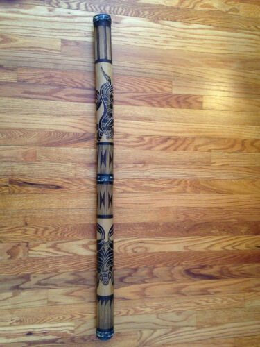 """Didgeridoo 46"""" long with carry case"""