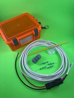 Hobie Kayak Battery  Fish finder Installation Kit, Case, Marine Wire,  More - Kit Fishfinder Accessory