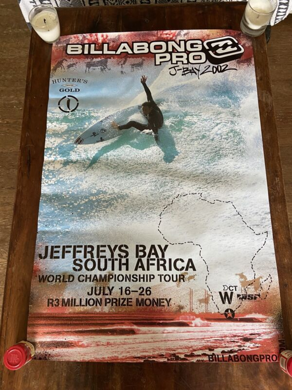 Billabong Pro J- Bay 2002 ASP Surfing Poster