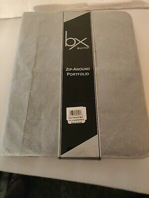 Buxton Writing Pad Portfolio Black