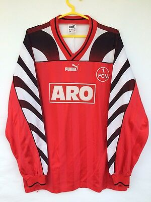 FC NURNBERG 1995 1996 PUMA HOME FOOTBALL SOCCER SHIRT JERSEY TRIKOT LONG SLEEVE  image