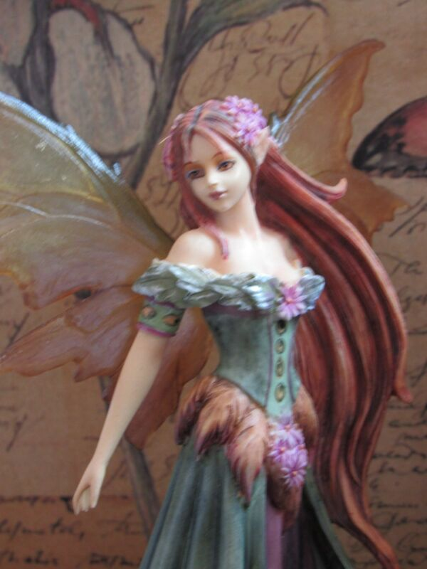 Amy Brown SUMMER QUEEN fairy figurine MUNRO makers of FAERIE GLEN fairies