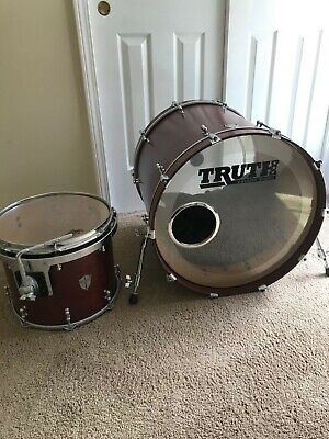 Truth Custom Drums: Kick Drum and Floor Tom, Lightly Used