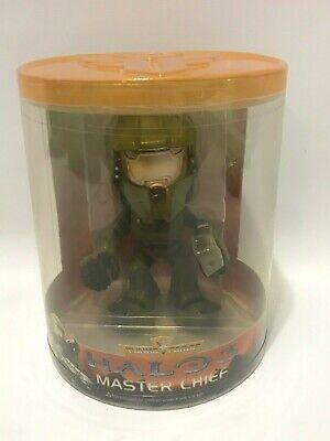 2009 Funko Force Bobble Head Halo 3 Master Chief Brand New Sealed Video Game -