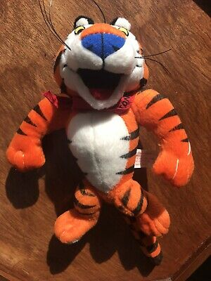 Vintage Tony The Tiger Plush Kelloggs Frosted Flakes 1997 Advertising