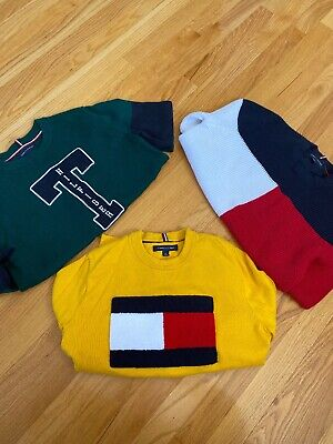 Lot Of 3 Tommy Hilfiger Sweaters