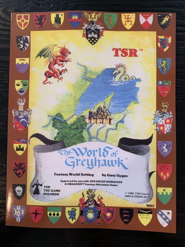 AD&D: The World Of Greyhawk - TSR 9025 - PBR