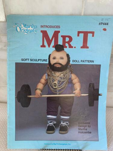 Vintage 1984 Miss Martha Originals Introduces Mr. T Soft (A-Team) Sculpture Doll