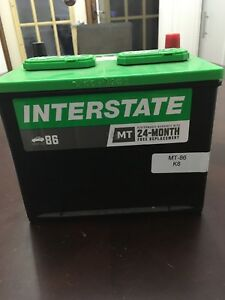 Brand new Interstate 86 Car Battery