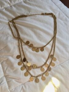 """Stella and Dot """"Rio"""" Coin Necklace"""