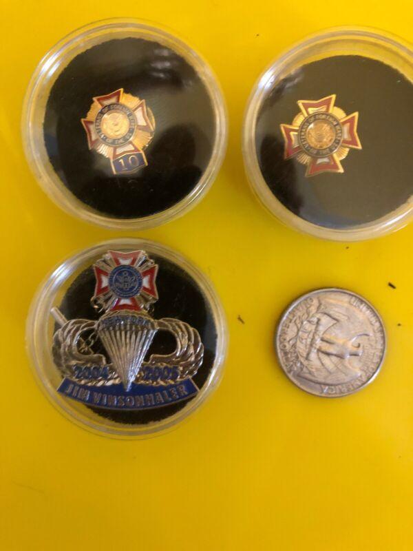 3 Vfw Pins