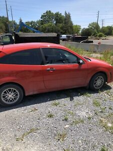 2007 Ford Focus manual 211700 kms safetied