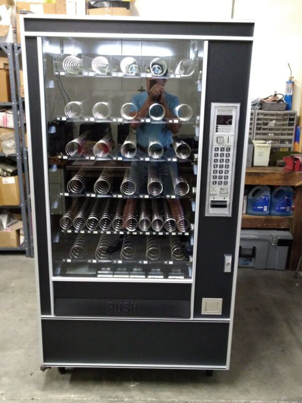 Automatic Products AP 7600 Snackshop Vending Machine candy chips cookies pastry