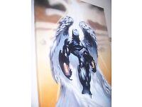 The Shield Vic Mackey 40x28 Oil Painting PTO