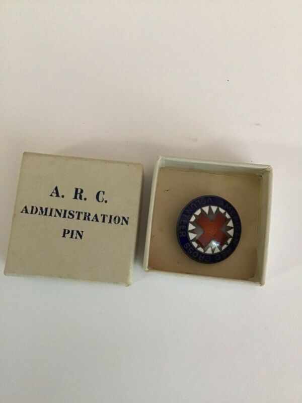 ARC American Red Cross Volunteer Pin Vintage Collectible