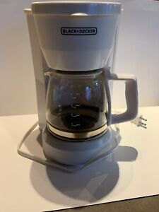 Coffee Black Decker , 5 cup, DCM600WC Type 1, Compact Design