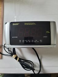 Used Emerson CKS3528 SmartSet Projection Clock Radio with Dual Alarms-